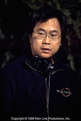 Director and Co-Writer James Wong on the set of New Line's Final Destination