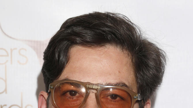 Roman Coppola attends the 2013 Writers Guild Awards at the JW Marriott on Sunday, Feb. 17., 2013 in Los Angeles. (Photo by Todd Williamson/Invision/AP)
