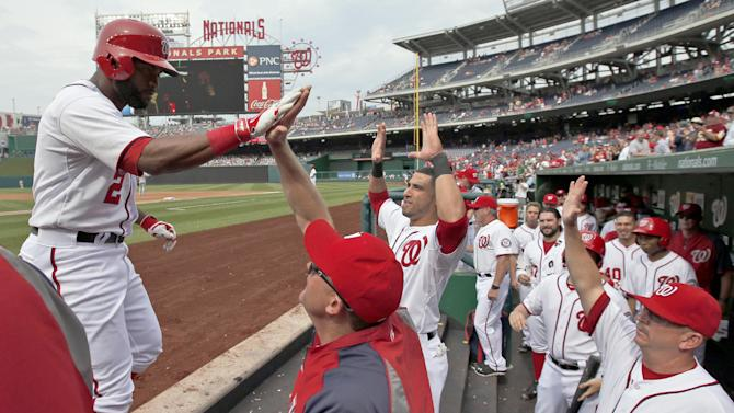 Nationals' bats struggle in 2-1 loss to Reds