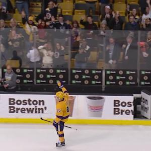 Lucic thanks the Bruins' fans