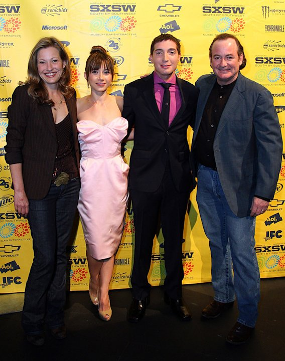 2011 SXSW Music and Film Festival Joey Lauren Adams Olesya Rulin Josh Danzinger David Born