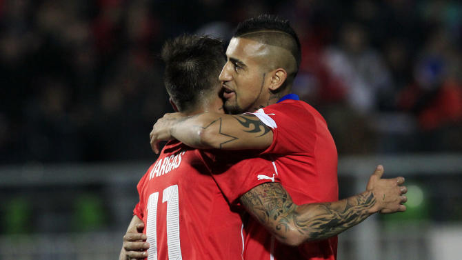 Chile beat Northern Ireland 2-0 in Vidal comeback
