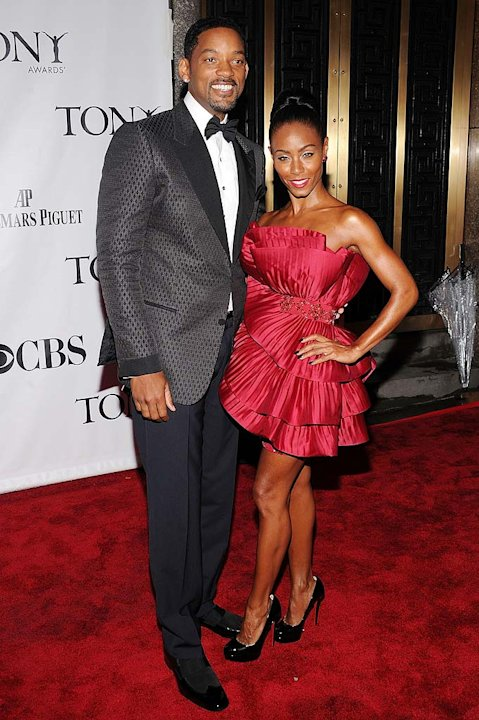 Smith Pinkett Tony Awards