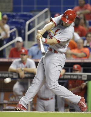 Masterson pitches Cardinals past Marlins, 5-2