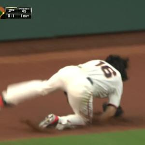 Pagan's run-saving grab