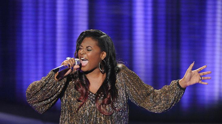 """American Idol"" Top 8 - Candice Glover"