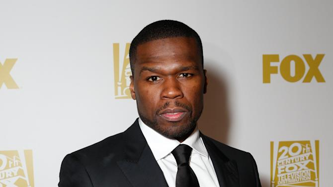 Rapper 50 Cent attends the Fox Golden Globes Party on Sunday, January 13, 2013, in Beverly Hills, Calif. (Photo by Todd Williamson/Invision for Fox Searchlight/AP Images)
