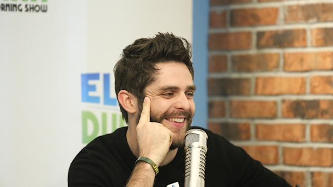 "Thomas Rhett Visits ""The Elvis Duran Z100 Morning Show"""