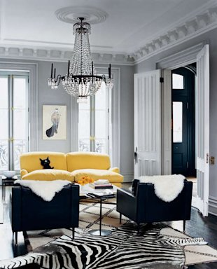 Jenna Lyons' living room