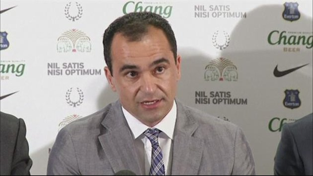 Roberto Martinez joins Everton as new manager