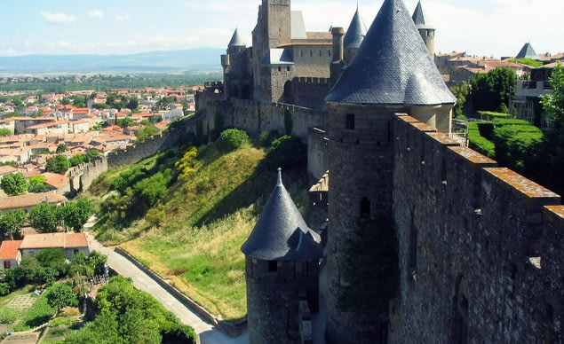 Carcassone, France (Courtesy of Jean-Pol Grandmont/Wikimedia Commons)
