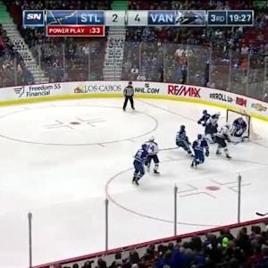 Eddie Lack Save on Dmitrij Jaskin (00:35/3rd)