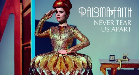 "Paloma Faith : Paloma Faith reprend INXS pour son nouveau single, ""Never Tear Us Apart"""