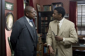 Forest Whitaker and Denzel Washington in The Weinstein Company's The Great Debaters