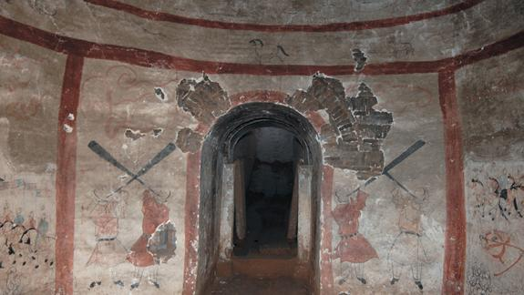 Ancient Chinese Murals Saved From Tomb Robbers