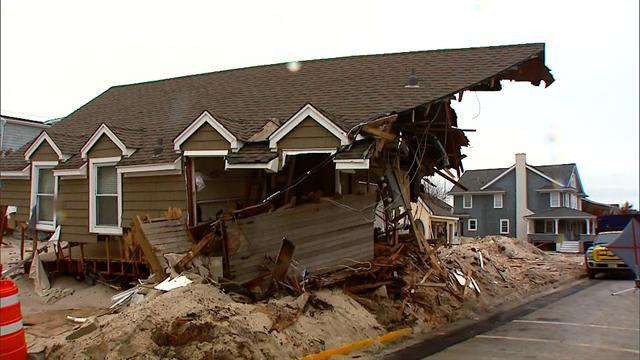 N.J. homeowners finally return after Sandy