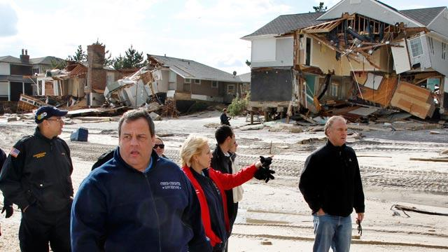 Gov. Chris Christie's Sandy Contracts Questioned as Expensive and Political