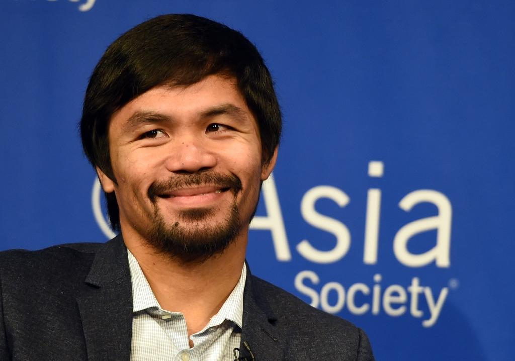 Pacquiao's shoulder almost healed