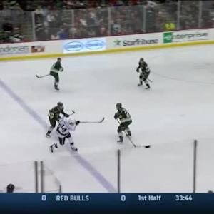 Devan Dubnyk Save on Justin Williams (03:57/1st)