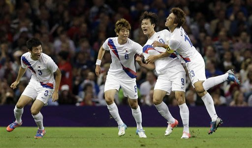 South Korea beats Britain 5-4 in Olympic shootout
