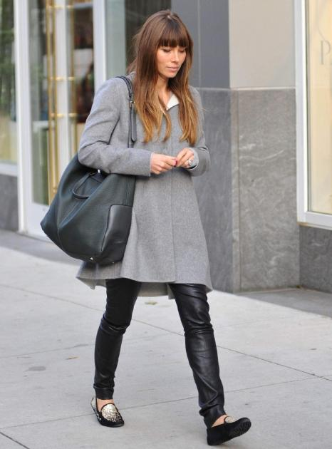 Jessica Biel as seen on November 18, 2012 in New York City -- Getty Images