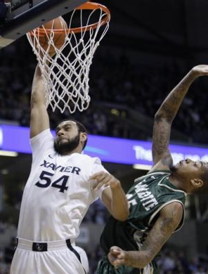 Xavier rallies to beat Charlotte 72-63