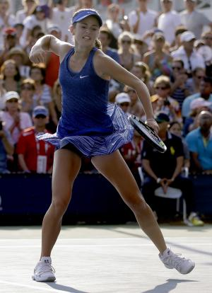 CiCi Bellis, 15, youngest US Open winner since '96