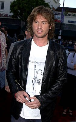 Val Kilmer at the Hollywood premiere of Warner Brothers' The Salton Sea