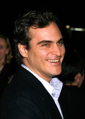 Joaquin Phoenix at the Los Angeles premiere of Focus Features' Reservation Road
