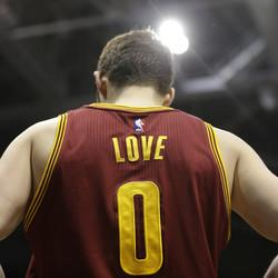 Looks Like Kevin Love Is Going To Miss The Rest of The Playoffs