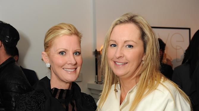 "Sandra Lee, left, attends LoveGold/EJAF Celebrate ""How to Survive a Plague"" at Chateau Marmont on February 22, 2013 in Los Angeles. (Photo by Jordan Strauss/Invision for LoveGold/AP Images)"