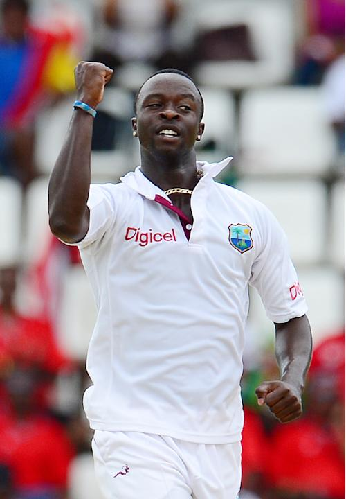 Kemar Roach: West Indies' pace spearhead showed what he can do when injury-free as he asked plenty of questions of all Australian batsman as he put in a lion-hearted performance across the series bowl