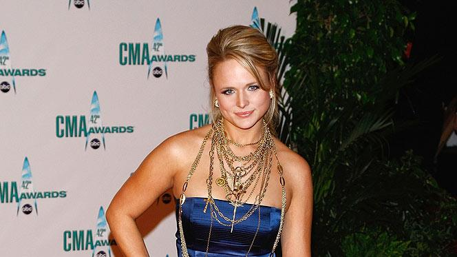 Musician Miranda Lambert attends the 42nd Annual CMA Awards at the Sommet Center on November 12, 2008 in Nashville, Tennessee.