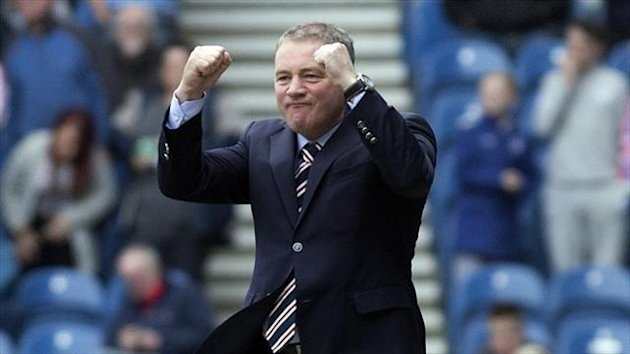 Ally McCoist has paid tribute to Rangers' 'outrageous' support