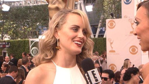Taylor Schilling Is White Hot at the Emmys