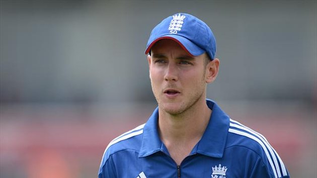Stuart Broad is struggling to travel to India due to the weather