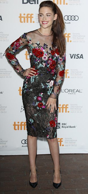 Kristen Stewart in Zuhair Murad at Toronto Film Festival, On The Road