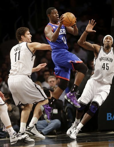 Johnson scores 22 points, Nets beat 76ers
