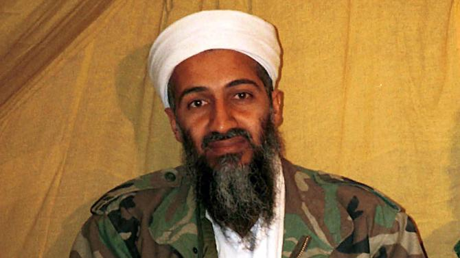 "FILE - This undated file photo shows al Qaida leader Osama bin Laden in Afghanistan. Several weeks after overseeing the raid that killed Osama bin Laden, then-CIA Director Leon Panetta violated security rules by revealed the name of the raid commander in a speech attended by the writer of the film ""Zero Dark Thirty,"" according to a draft report by Pentagon investigators. The unpublished report was first disclosed by the Project on Government Oversight and confirmed Wednesday by Rep. Peter King, who requested the probe nearly two years ago. (AP Photo, File)"