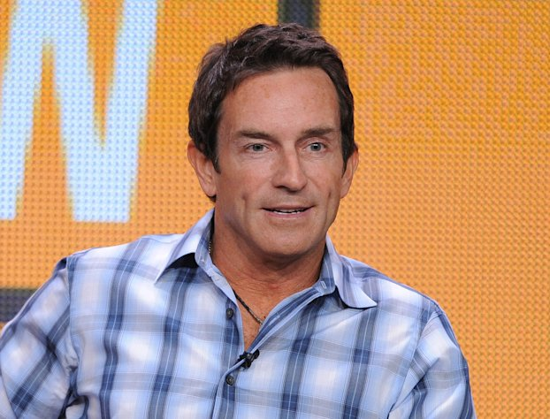 FILE - This July 29, 2012 file photo shows TV host Jeff Probst participating in the CBS &quot;The Jeff Probst Show&quot; TCA panel in Beverly Hills, Calif. Probst is part of a crowded Class of 2012 in the syndicated talk world. Even though he&#39;s spent the past decade in prime time as host of television&#39;s most consistently successful reality show, he&#39;s less known than his rivals _ Katie Couric, Steve Harvey and Ricki Lake. His first week&#39;s guests include a couple in their 90s who met and got married within two weeks, three women in their 80s who dispense sex advice, stars of the documentary &quot;The Queen of Versailles&quot; who talk about their effort to build a big new house, and an 8-year-old girl who founded an organization to make the world a better place. (Photo by Jordan Strauss/Invision/AP, file)