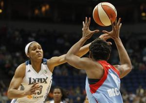 Lynx rout Dream in matchup of top teams in WNBA