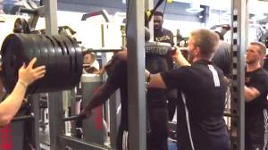 WATCH: Former Nebraska DT Maliek Collins Squats a Ridiculous 785 Pounds