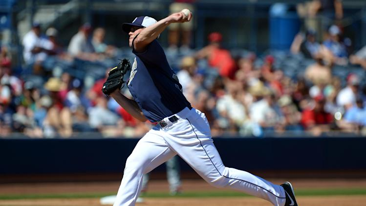 MLB: Spring Training-Los Angeles Angels at San Diego Padres