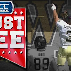 Wake's Tanner Price Finds Michael Campanaro For TD on 4th and 1 | ACC Must See Moment