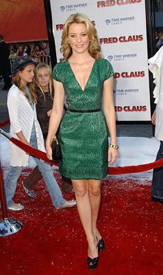 Elizabeth Banks at the Hollywood premiere of Warner Bros. Pictures' Fred Claus