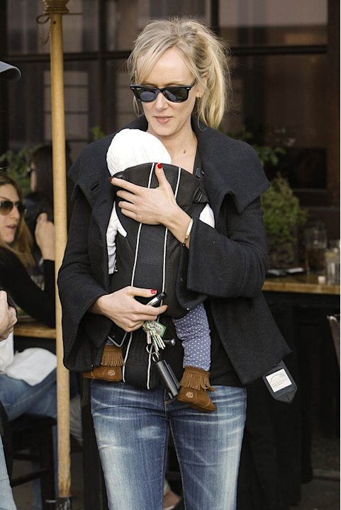 Kimberly Stewart Baby Lunch