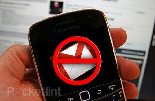 Gmail app for BlackBerry killed by Google