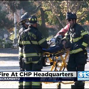 CHP Headquarters Catches Fire