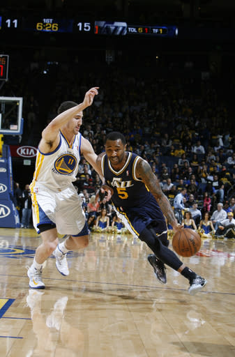 Jazz top Warriors 97-90, regain 8th spot in West