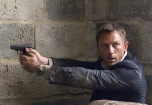 "Daniel Craig in ""Quantum of Solace."""